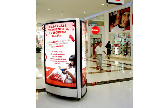 Painel Indoor Shopping